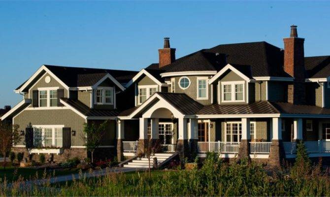Luxury Craftsman Style Home Plans Realty New