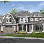 Luxury Craftsman Style House Hip Gabled Roof