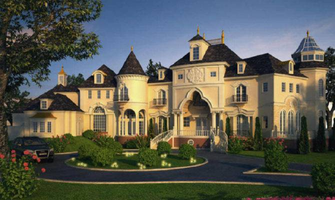 Luxury Dream Home Design Large Custom House Floor Plans