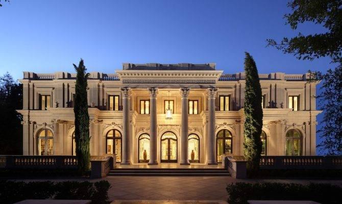 Luxury Dream Home Elegance Style Huge Mansion