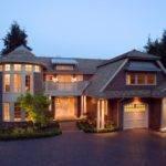 Luxury Home Calgary Evening