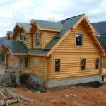 Luxury Home Designs Log Plans Orange Wooden House