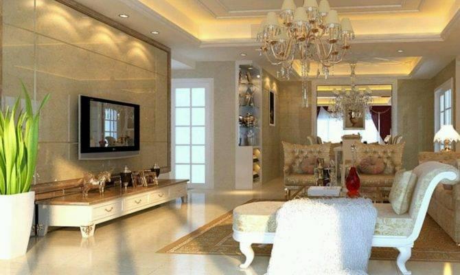 Luxury Homes Interior Decoration Living Room Designs Idea