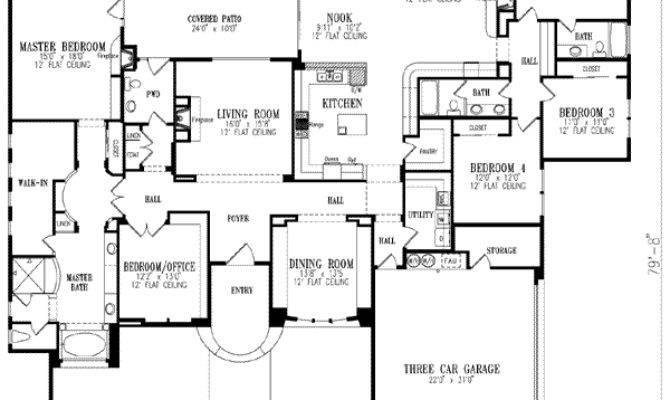 Luxury House Plan Bedrooms Bath