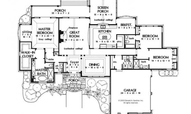 Luxury House Plans One Story Homes