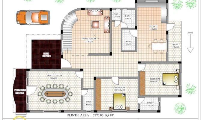 Luxury Indian Home Design House Plan Kerala
