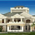Luxury Kerala House Exterior Home Design Floor Plans