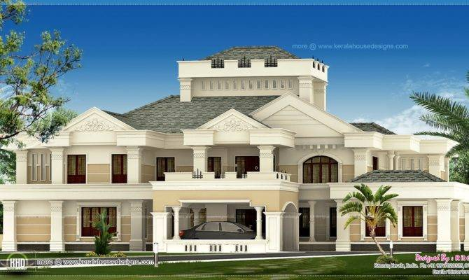 Luxury Kerala House Exterior Home Design Floor Plans