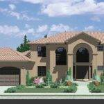 Luxury Mediterranean House Plans Tile Roofs Arched