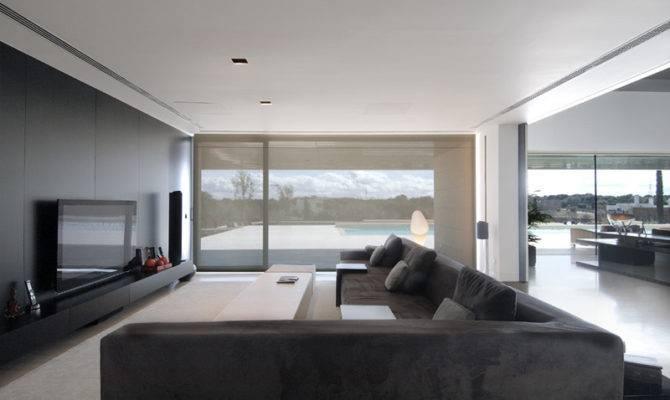 Luxury Minimalist House Spectacular Swimming Pool Housing