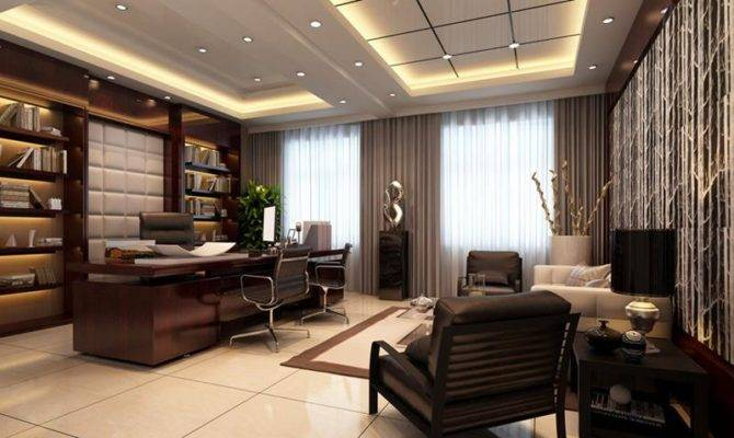 Luxury Modern Home Office Designs