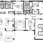 Luxury Modern House Floor Plans Saville