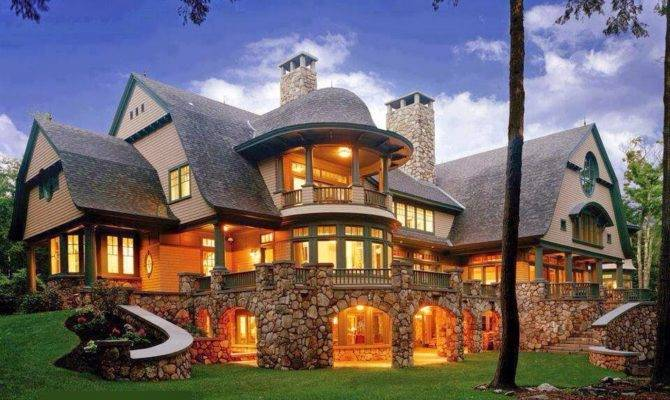 Luxury Mountain Craftsman Home Plans Designs