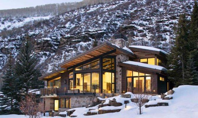 Luxury Mountain Homes Colorado Exterior Rustic