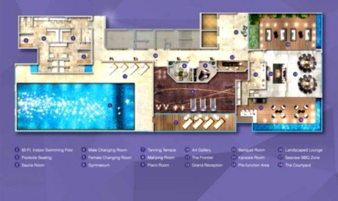 Luxury Pool House Floor Plans