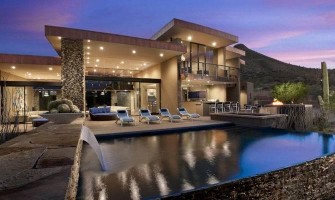 Luxury Pools Waterfalls Pool Design Ideas
