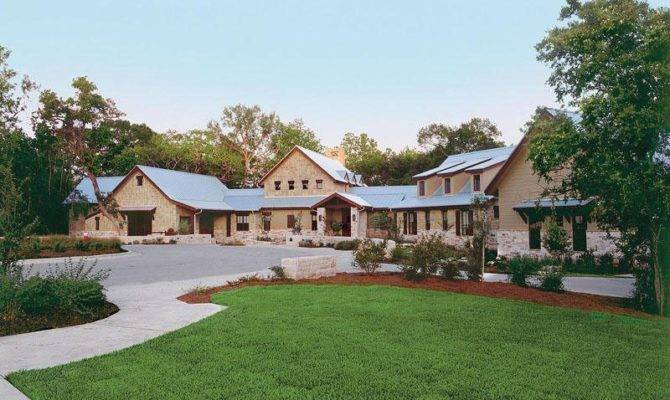 Luxury Ranch Style House Custom Home Plans
