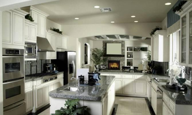 Luxury Shaped Kitchen Designs Layouts Photos