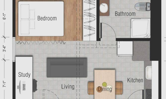 Luxury Studio Apartment Design Ideas Square Feet