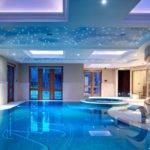 Luxury Swimming Pool Ultra Modern House Villa
