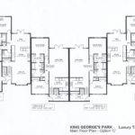 Luxury Townhome Plans Floor