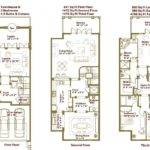 Luxury Townhouse Floor Plans Oriana Sea