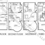 Luxury Townhouse Floor Plans Townhouses