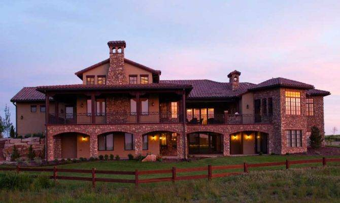 Luxury Tuscan Home Plans Design