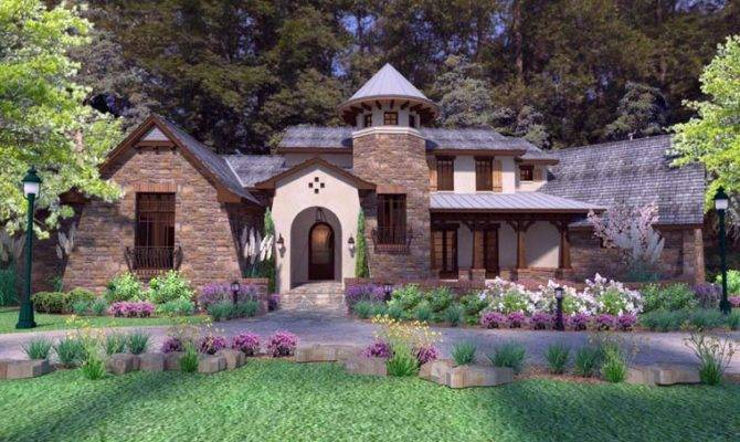 Luxury Tuscan Style House Plan Home Plans Blog