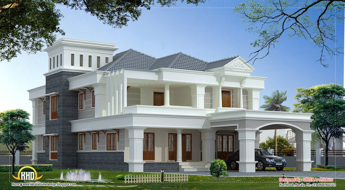 Luxury Villa Design Kerala Home Floor Plans Home Plans Blueprints 39366
