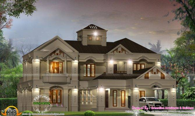 Luxury Villa Design Kerala Home Floor Plans