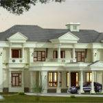 Luxury Villa Elevation Design Kerala Home Floor Plans