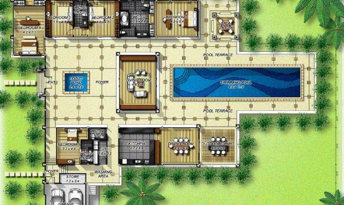Luxury Villas Plans Exclusive Bedroom