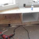 Made Out Plywood Trimmed Bottom Trim