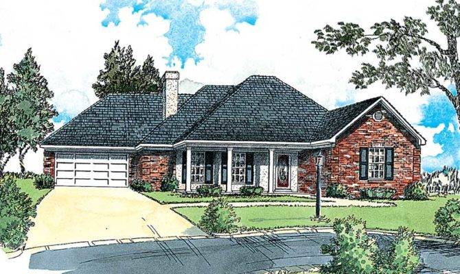 Madsen Traditional Ranch Home Plan House Plans