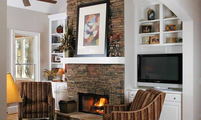 Floor To Ceiling Fireplaces Ideas