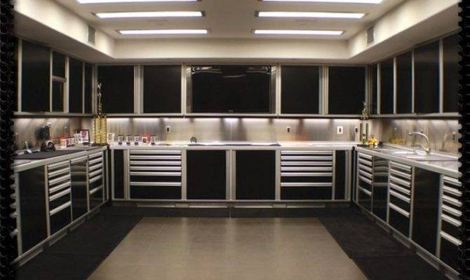 Magnificent Garage Interior Designs Inspiration Design