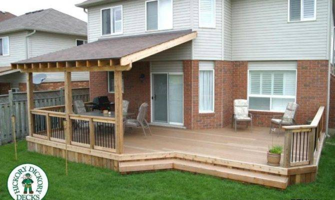Main Area Deck Detailed Plans Roof Construction
