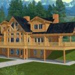 Majestic Style Log Home Design Coast Mountain Homes