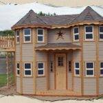 Make Outdoor Castle Playhouse