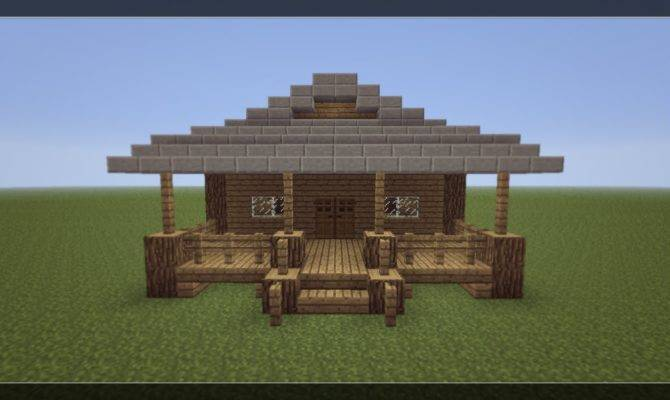 Make Small Minecraft House Youtube Home Plans Blueprints 64030