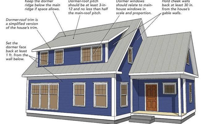Making Shed Dormers Work Fine Homebuilding