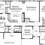 Manchester All American Homes Ranch Floorplan