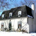 Mansard Roof Painted Brick Neo Pinterest French