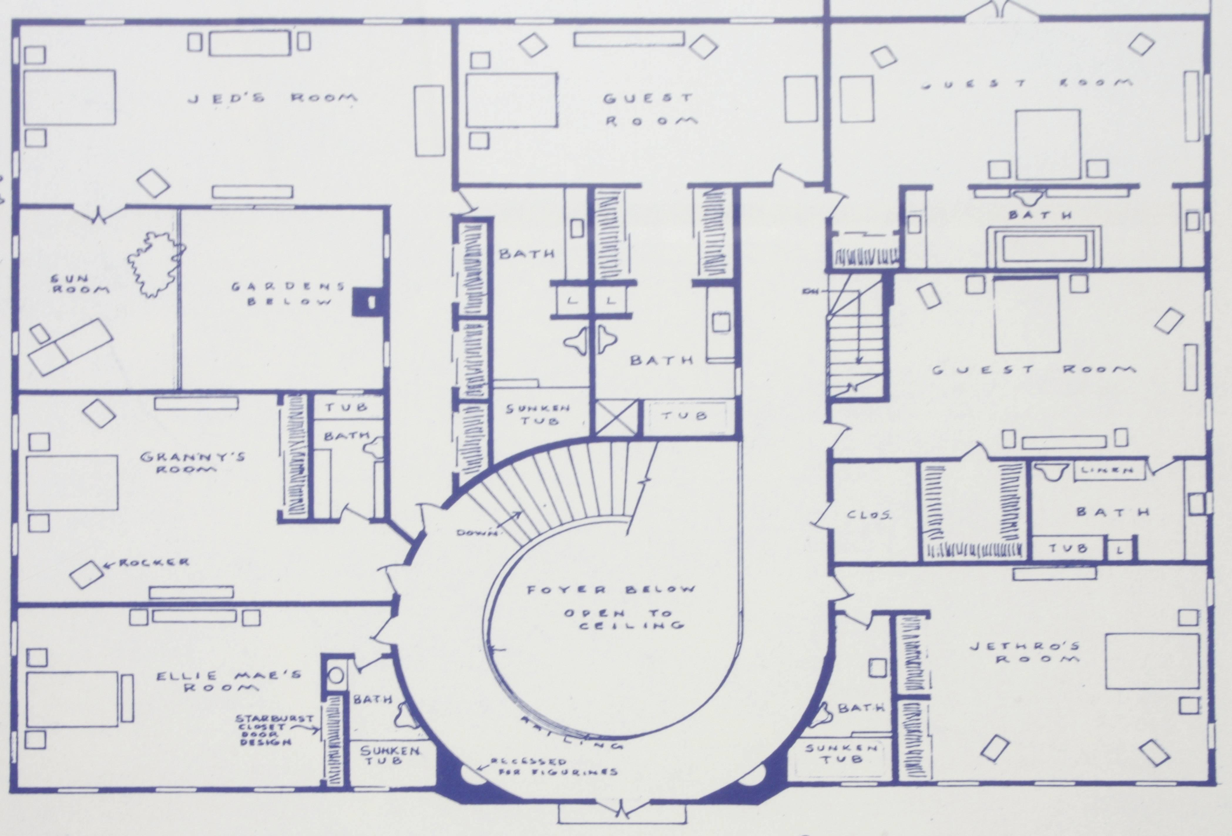 Mansion Blueprints Home Plans Blueprints 80933
