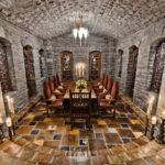 Mansion Features Elevator Gym Game Room Vaulted Stone Wine