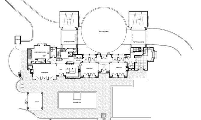 Mansion Floor Plan Big Plans Modern