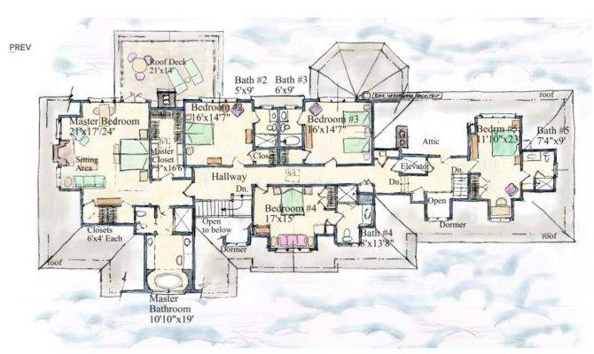 Mansion Floor Plans Hedges Lane Sagaponack New York