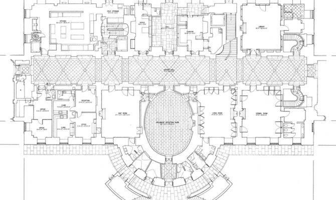 Mansion Floor Plans White House Ground