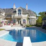 Mansions Pools Cream Deck White Wall Stone Purple